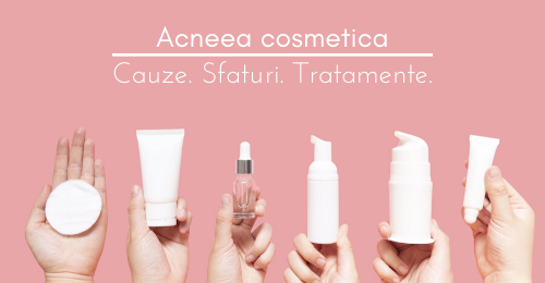 Acneea cosmetica #lessismore