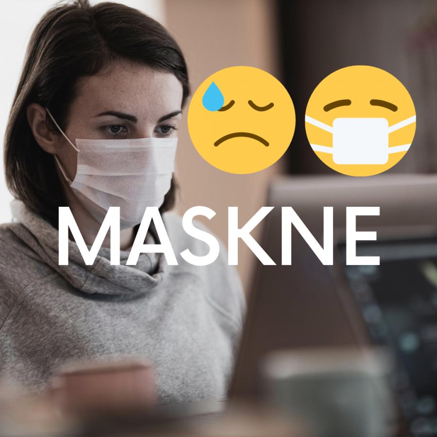 Cum scapam de MASKNE, acneea cauzata de purtarea mastii